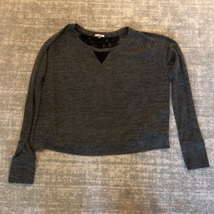 Gray long sleeve Victoria Secret top